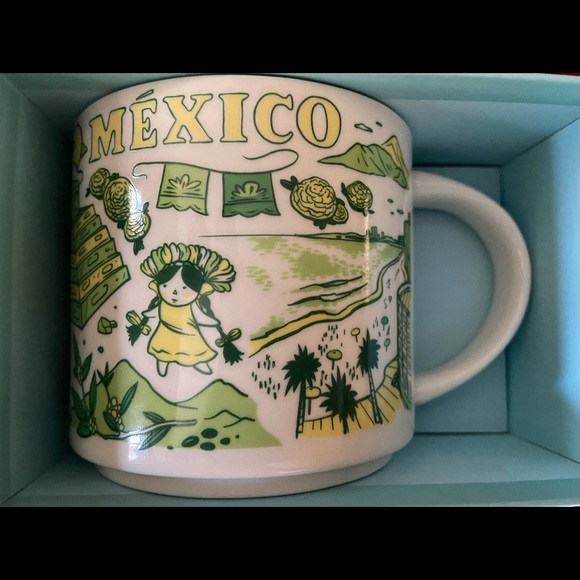 Starbucks Mexico Mug - Been There Series (NEW)